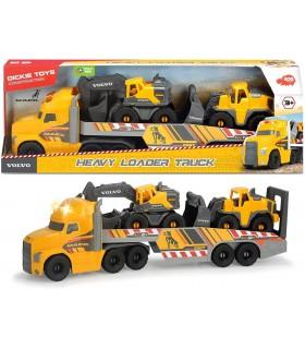 Mack Volvo Heavy Loader Truck 70Cm Cu Remorca