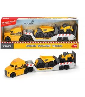 Trailer Volvo Mack Cu Basculanta Si Tractor