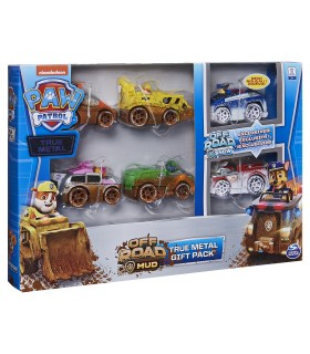 Set 6 Masinute Metalice Off Road Edition