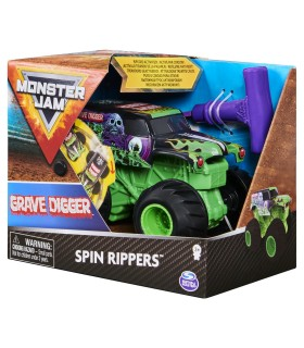Grave Digger Seria Spin Rippers