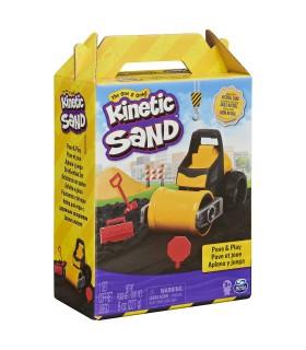 Kinetic Sand Set Constructii Asfalteaza Si Niveleaza