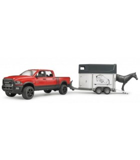 Dodge Ram 2500 Power Wagon Cu Remorca Transport Cai Si Cal