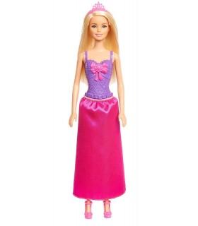 Barbie Printesa Cu Rochita Rosie