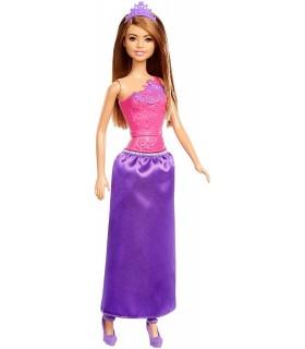 Barbie Printesa Cu Rochita Mov