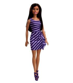 Barbie Tinute Stralucitoare Satena Cu Rochita Mov