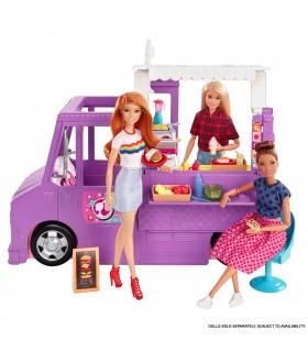 Barbie Set Cu Rulota La Picnic