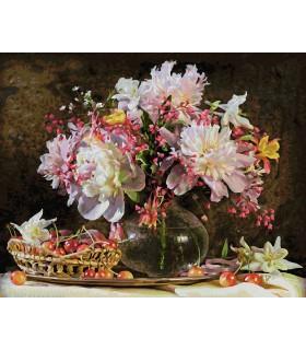 Explozie De Culoare Cu Flori Si Cirese