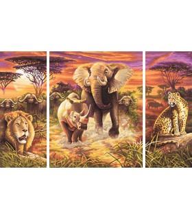 Cei 5 Eroi Ai Africii, 3 Tablouri
