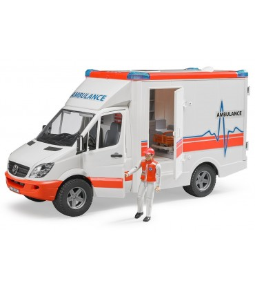 Ambulanta Mercedes Benz Sprinter Cu Paramedic