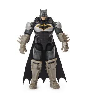 Batman In Costum Cu Armura Cu Accesorii Surpriza, 10 cm