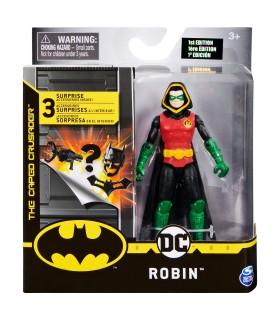 Robin Flexibila Cu 3 Accesorii Surpriza, 10 cm