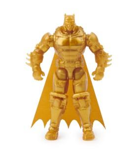 Batman Auriu Cu Accesorii Surpriza, 10 cm