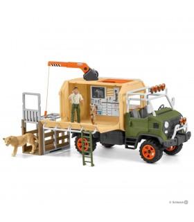 Camion De Salvare A Animalelor Mare