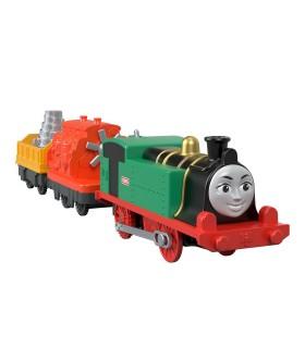 Locomotiva Gina Motorizata Cu 2 Vagoane