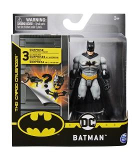 Batman Costumatie Gri Cu 3 Accesorii, 10 cm