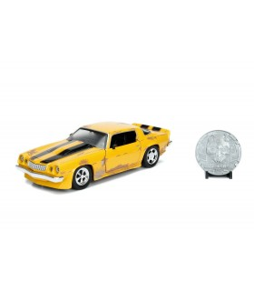 Masinuta Metalica Transformers 1977 Chevy Camaro Scara 1:24