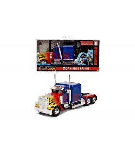 Masinuta Metalica Transformers T1 Optimus Prime Scara 1:32
