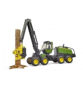 Tractor Forestier John Deere 1270G cu 1 Bustean
