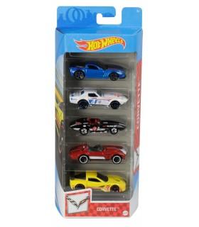 Set 5 Masini Hot Wheels Marca Corvette