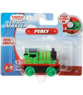Locomotiva Percy Push Along Cu Pete Colorate