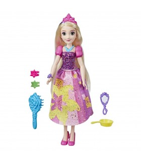 Printesa Rapunzel Accesorizata Cu Stil