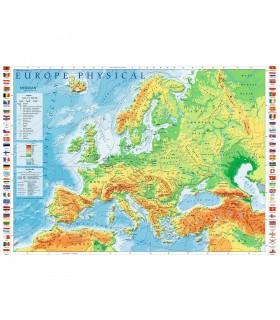 Harta Fizica A Europei, 1000 Piese