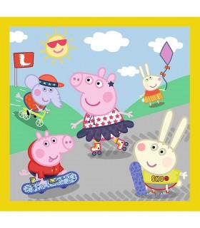 Peppa Pig O Zi Aniversara 3In1, 20/36/50 Piese