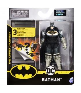 Batman In Costum Cu Super Armura Cu Accesorii, 10 cm