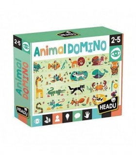 Puzzle Domino Animale, 24 Piese