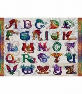 Alfabet Dragon, 1000 Piese