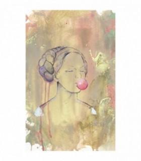 Doamna Cu Balon Din Guma, 300 Piese
