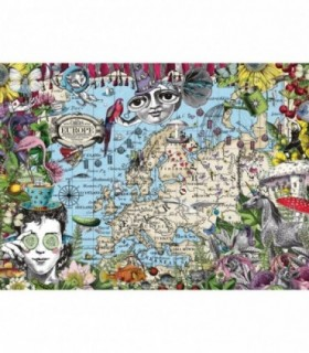 Harta Europei 'Funny Circus', 500 Piese