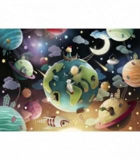 Planete, 100 Piese XXL