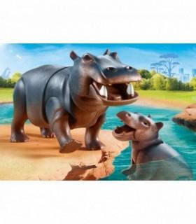 Hipopotam Cu Pui