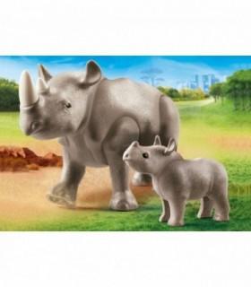 Rinocer Cu Pui