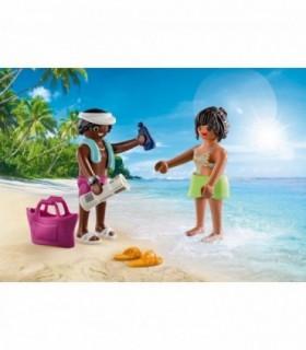 Set 2 Figurine Cuplu La Plaja