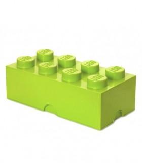Cutie Depozitare LEGO 2X4 Verde Deschi