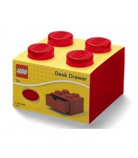 Sertar De Birou LEGO 2X2 Rosu