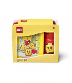 Set Pentru Pranz LEGO Iconic Rosu-Galben