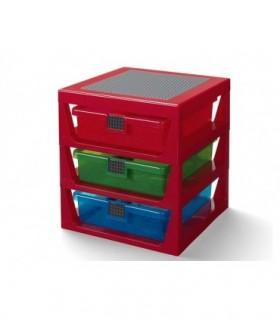 Cutie Depozitare LEGO  Cu Trei Sertare