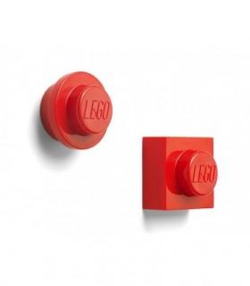 Set 2 Magneti LEGO, Rosu