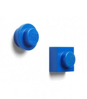 Set 2 Magneti LEGO, Albastru