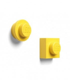 Set 2 Magneti LEGO, Galben