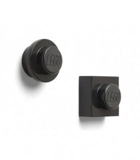 Set 2 Magneti LEGO, Negru