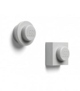 Set 2 Magneti LEGO, Gri
