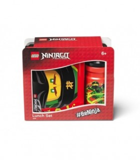 Set Pentru Pranz LEGO Ninjago, Negru/Rosu