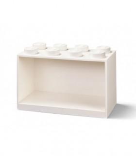 Raft Caramida LEGO 2X4 - Alb
