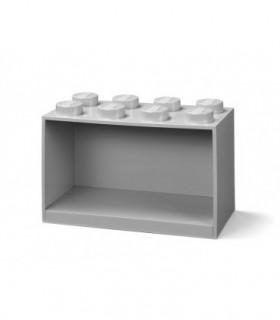 Raft Caramida LEGO 2X4 - Gri