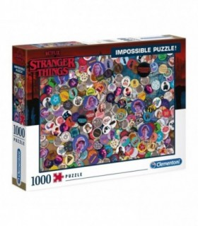 Puzzle Impossible Stranger Things, 1000 Piese