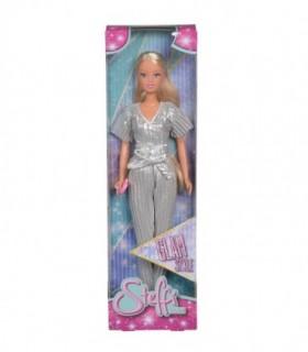 Steffi Glam Style Cu Hainute Argintii